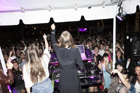 Haim, Chris Blaski Photo, The Roosevelt Hotel, Hollywood